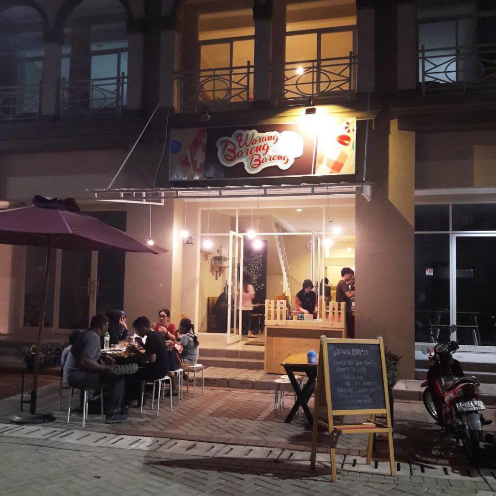 tempat hangout di Bekasi, Warung Bareng Bareng, Anak Kota