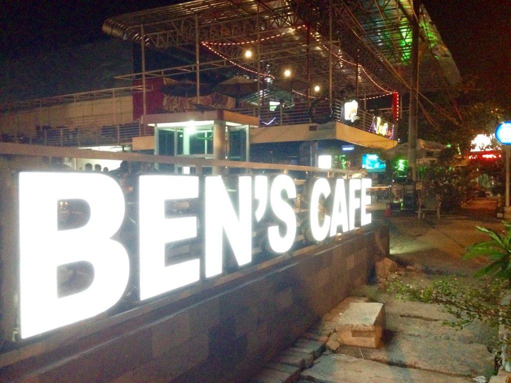 ben's cafe medan, anakkota