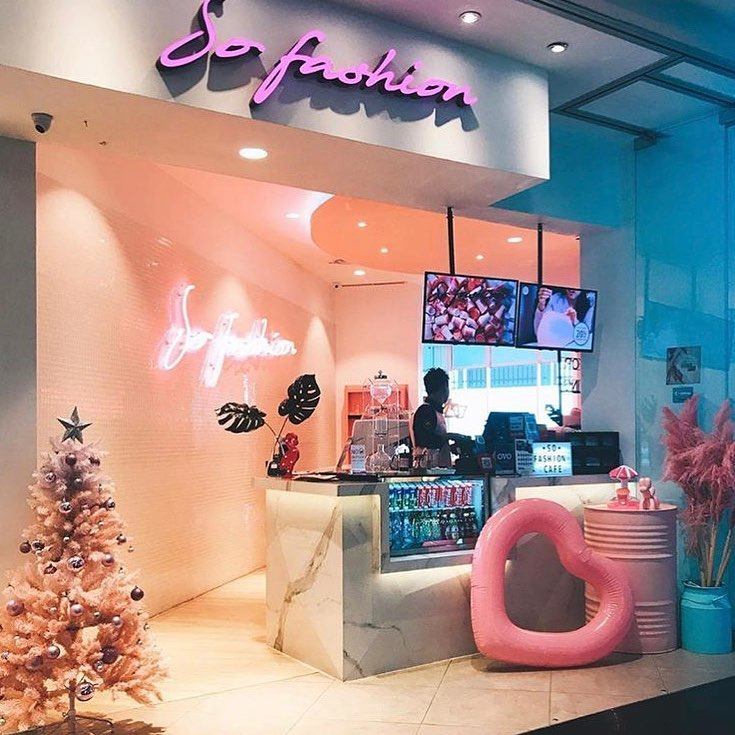 So Fashion, Cafe Instagramable di Jakarta Barat, Anakkota