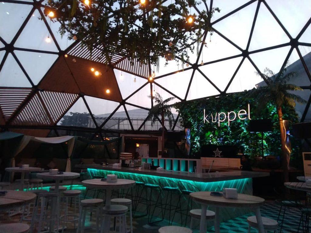 tempat nongkrong di Surabaya, Kuppel Biergaten & Bar, anakkota.com