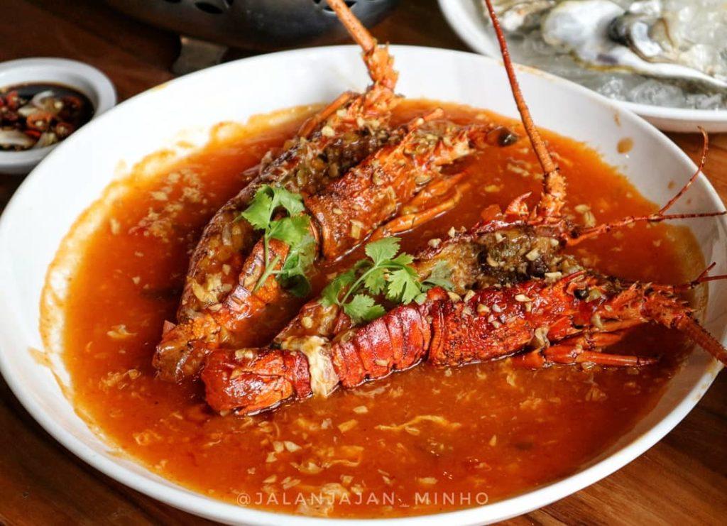 Udang Saus Padang Captain's Seafood, Anak Kota (Instagram: @jalanjajan_minho)