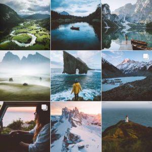 Tema Instagram, Instagram Lebih Menarik, Anak Kota (Sumber: Pinterest Preview App Instagram)